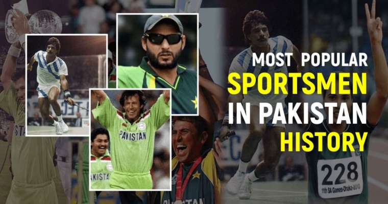 Top 10 Most Popular Sportsmen In Pakistan History