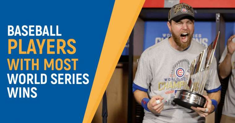Top 10 Baseball Players With Most World Series Wins