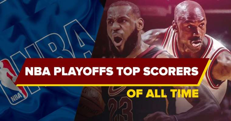 Top 10 NBA Playoffs Top Scorers of All Time