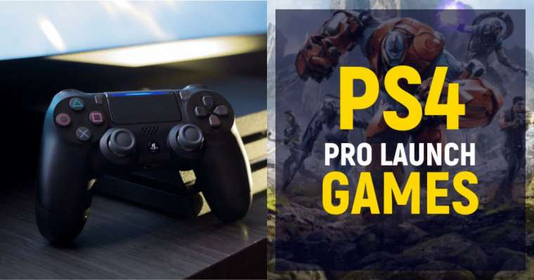 Top 10 PS4 Pro Launch Games In 2021
