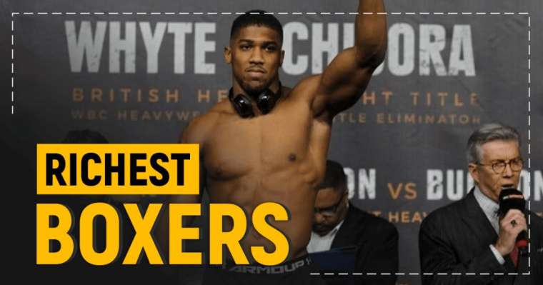 Top 10 Richest Boxers   Net Worth & Salary Details
