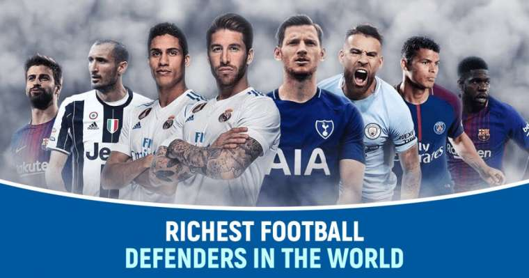 Top 10 Richest Football Defenders In The World
