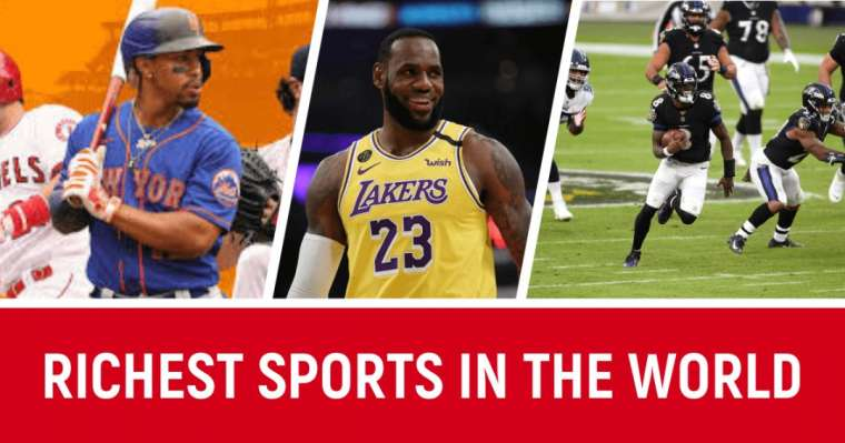 Top 10 Richest Sports in the World 2021