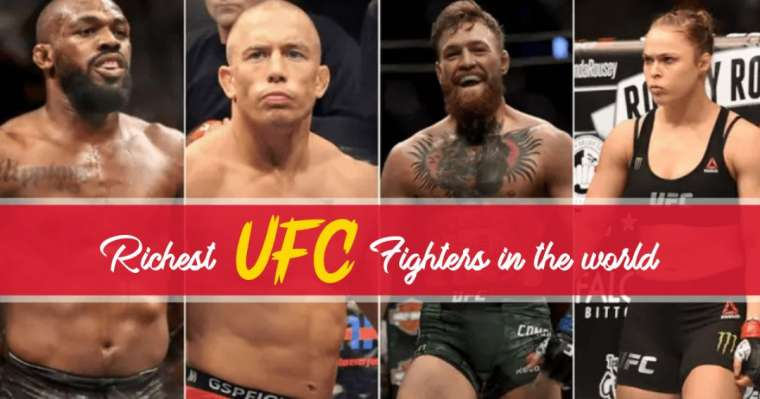 Top 10 Richest UFC Fighters In The World
