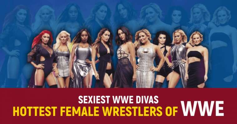 Top 10 Sexiest WWE Divas 2021 | Hottest Female Wrestlers of WWE