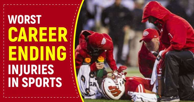 Top 10 Worst Career Ending Injuries In Sports History