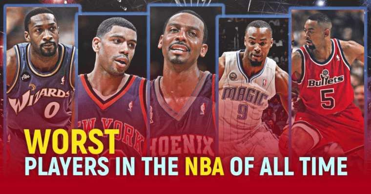 Top 10 Worst Players In The NBA Of All Time