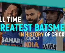 Top 10 All-Time Greatest Batsmen in History of Cricket