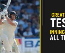 Top 10 Greatest Test Innings Of All Time