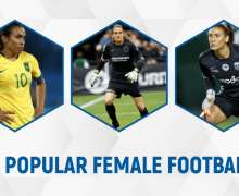 Top 10 Most Popular Female Footballers In The World In 2021