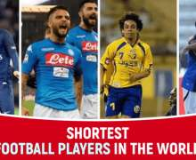 Top 10 Shortest Football Players In The World - 2021 Ranking