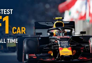 Top 10 Fastest F1 Cars Of All Time