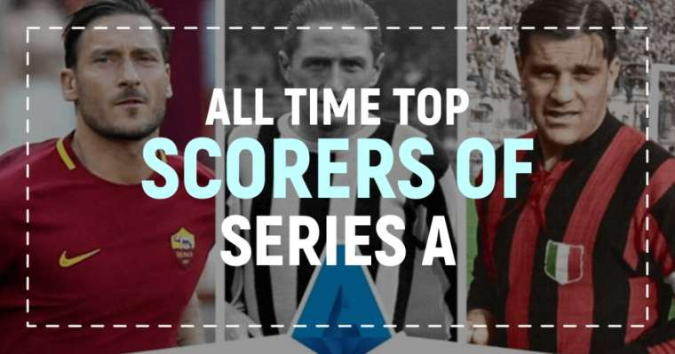 10 All Time Top Scorers of Serie A