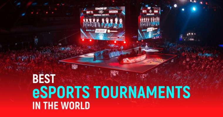 10 Best eSports Tournaments In The World In 2021