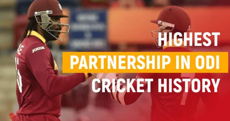 Top 10 Highest Partnerships In ODI Cricket History