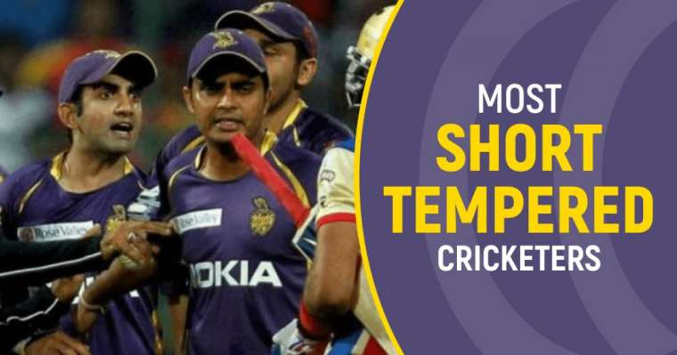 Top 10 Most Short-Tempered Cricketers of the World