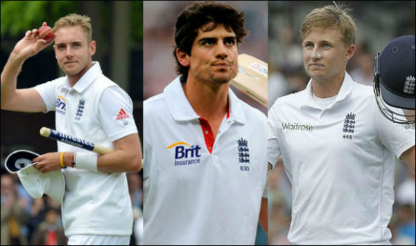 Ashes Series England Captains list