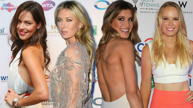 Most Beautiful Female Tennis Players