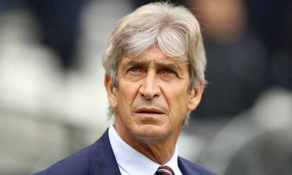 Italian manager Manuel Pellegrini