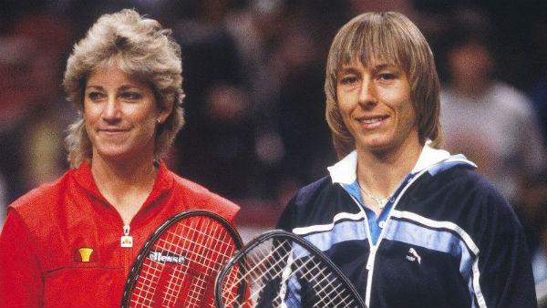 Martina Navratilova Vs Chris Evert - Tennis