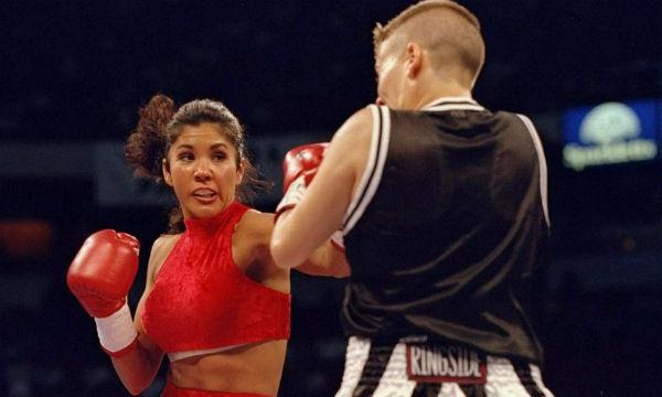 Mia St. John Legendary Boxer