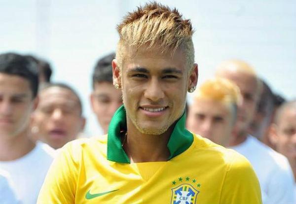 Neymar Bleached Blonde
