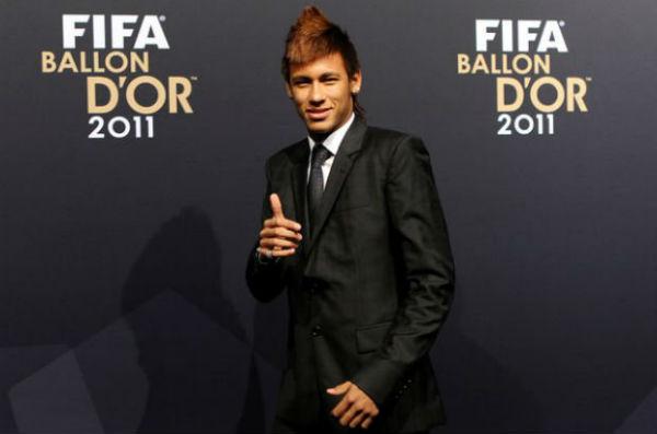 Neymar Messy Fauxhawk