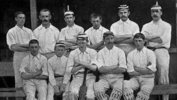 South Africa Vs England 1896
