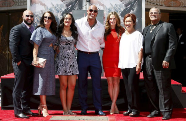 WWE Connection of the Rock's family