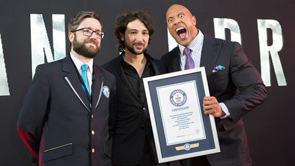 The Rock Guinness World Record