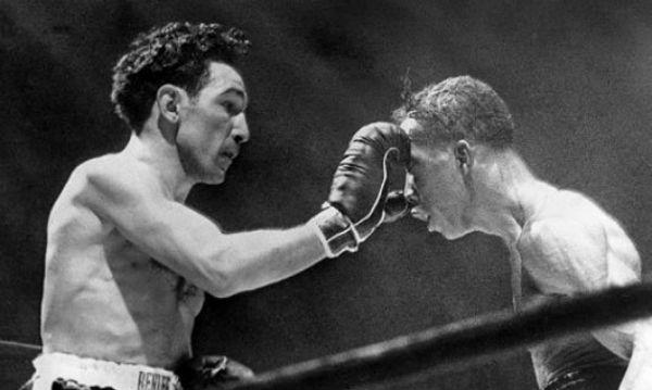 Willie Pep Boxer