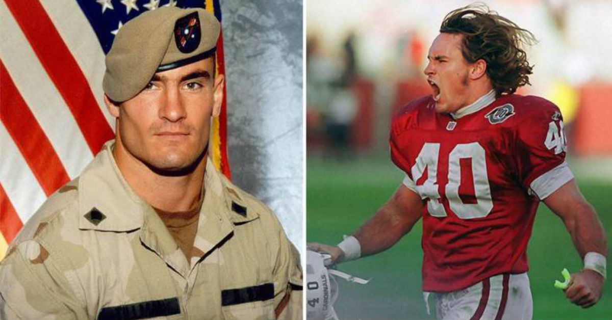 Athletes who are War Veterans