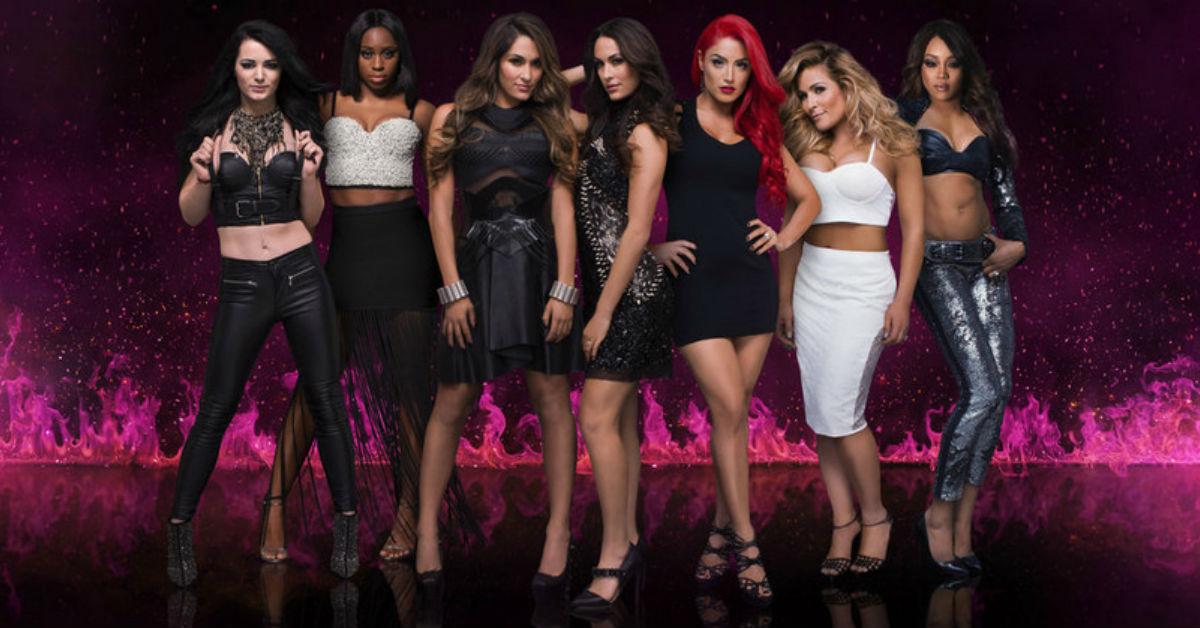 Female Professional Wrestlers In WWE
