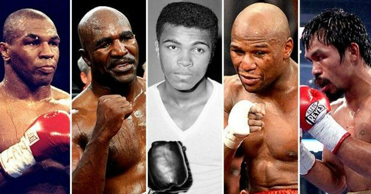 Greatest Boxers Of All Time