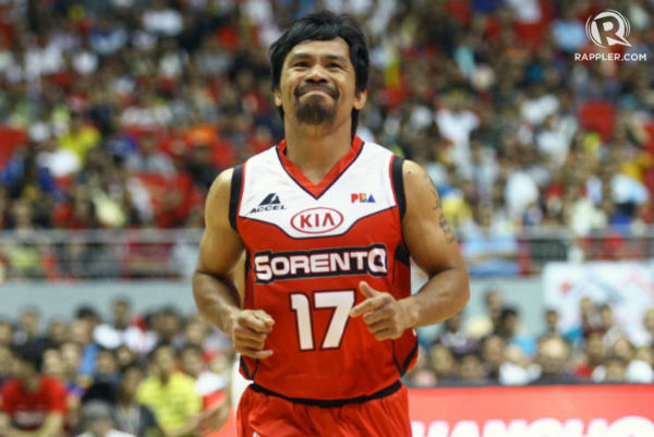 Manny Pacquiao Basketball