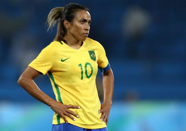Marta most popular soccer players