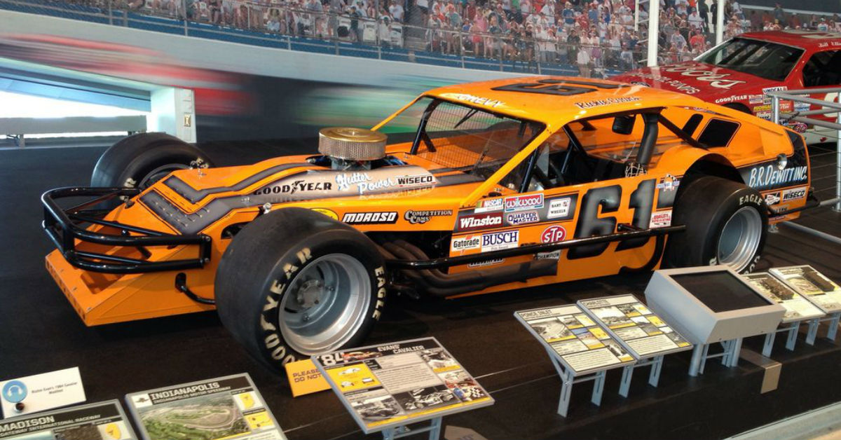 Drivers in NASCAR Hall of Fame Racing