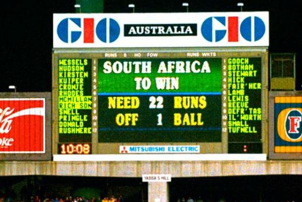 South Africa Vs England 1992
