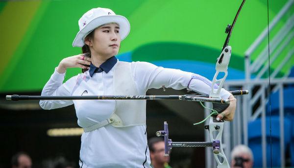 One of the greatest female archers Ki Bo Bae