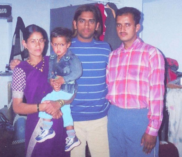 Previous profession of MS Dhoni