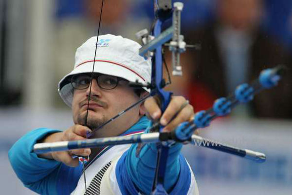 Greatest Italian archer Marco Galiazzo