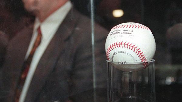 Mark McGwire Home Run Ball