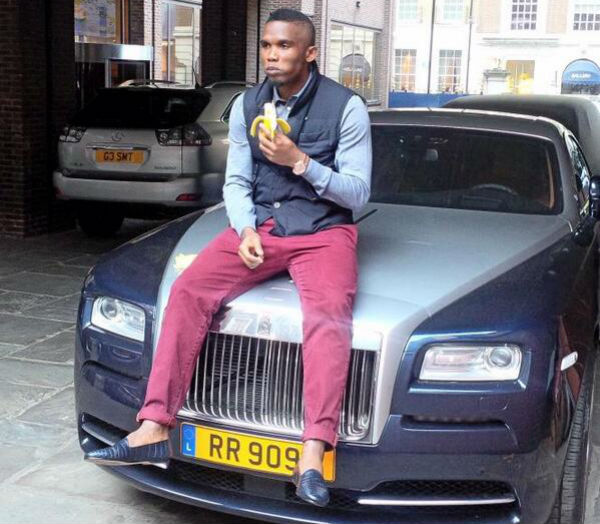 Car Collection of Samuel Eto'o