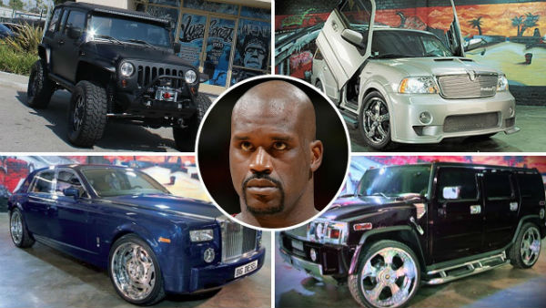 Car Collection of Shaquille O'Neal