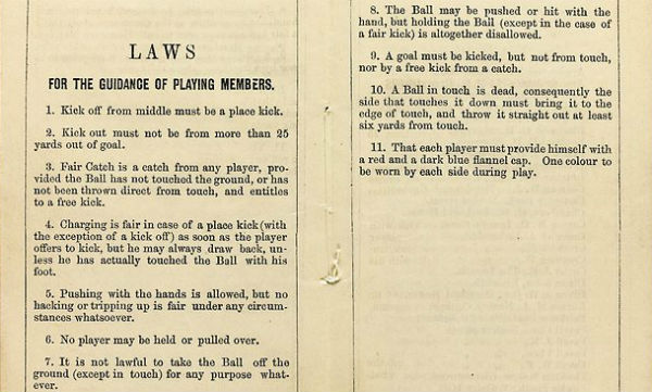 Soccer Rule Book