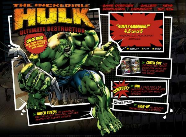 The Incredible Hulk Ultimate Destruction