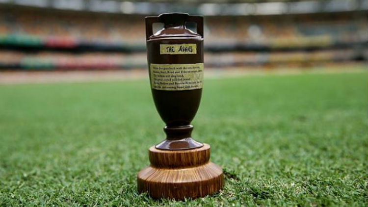 the ashes in the Ashes Trophy