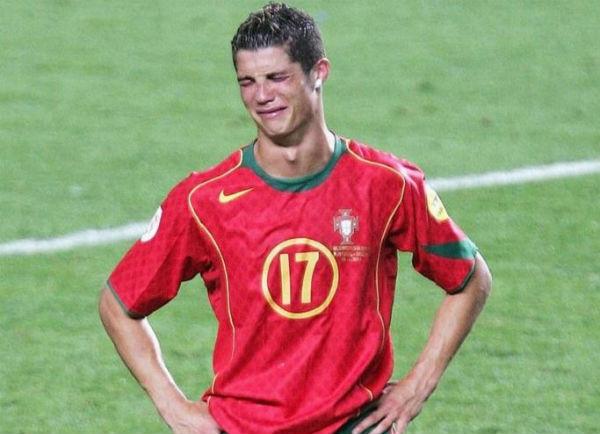 Cristiano Ronaldo Crying