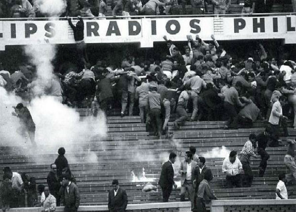 Estadio Nacional Disaster