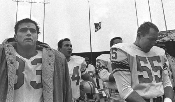 JFK Tragedy NFL